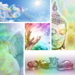 a collage of images relating to holistic healing